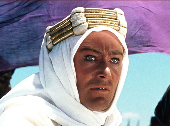 Peter O'Toole, Lawrence of Arabia