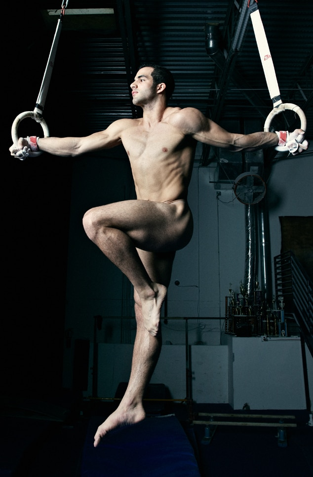 Danell Leyva, Naked Athletes, ESPN