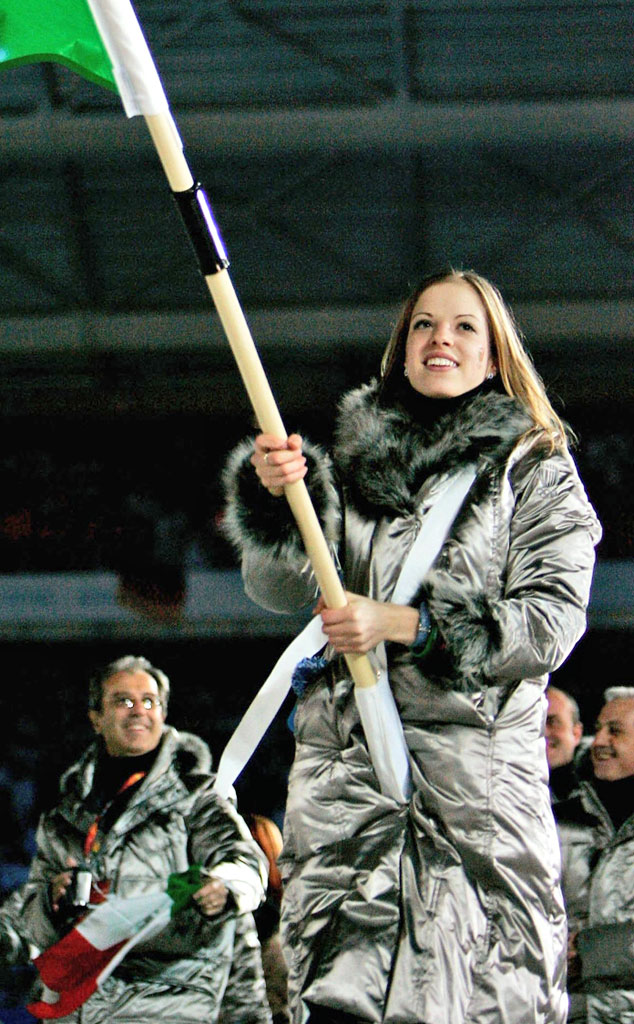 Carolina Kostner, Italy at Turin 2006 Opening Ceremony