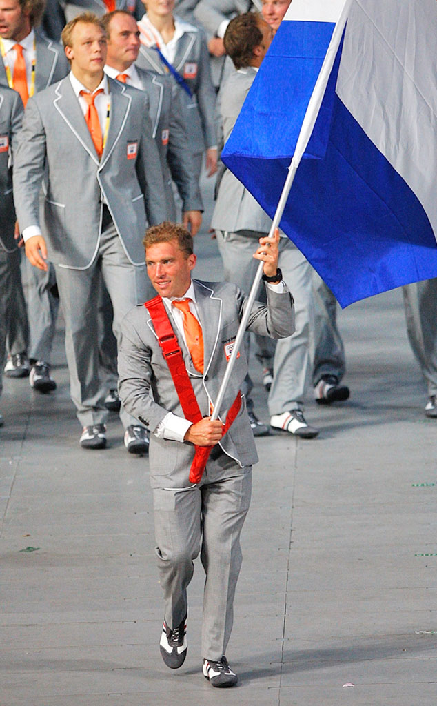 Jeroen Delmee, The Netherlands at Beijing 2008 Opening Ceremony