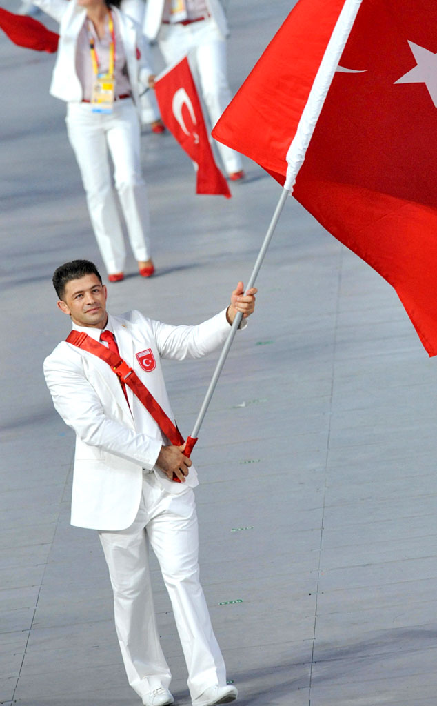 Mehmet Ozal, Turkey at Beijing 2008 Opening Ceremony