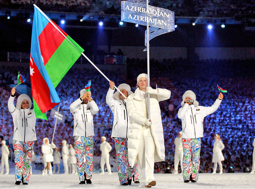 Azerbaijan at Vancouver 2010 Opening Ceremony
