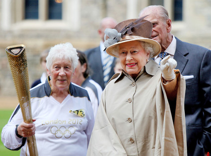 Queen Elizabeth II, Prince Philip, Gina MacGregor