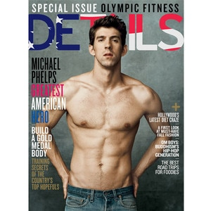 Michael Phelps, Details Cover