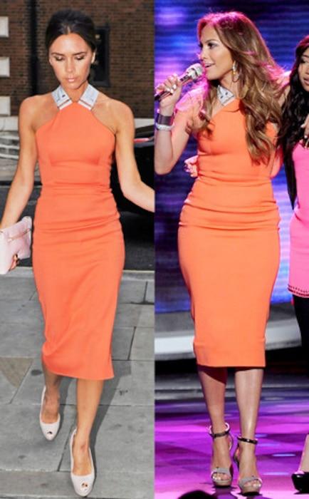 Victoria Beckham, Jennifer Lopez