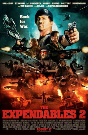 THE EXPENDABLES, COMIC CON POSTER
