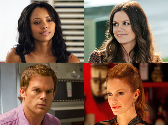 Spoiler Chat, Kristin Bauer Van Straten, True Blood Rachel Bilson, Hart of Dixie Michael C. Hall, Dexter Kat Graham, Vampire Diaries