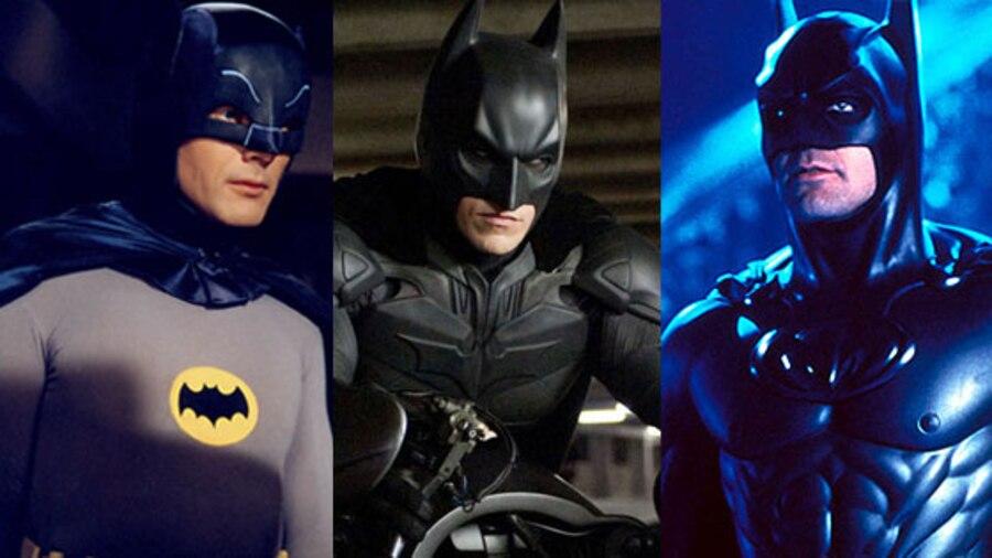 Adam West, Christian Bale, George Clooney