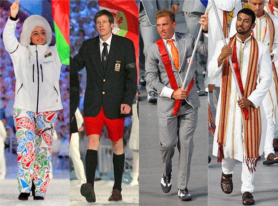 Olympics Opening Ceremony Fashion Rewind