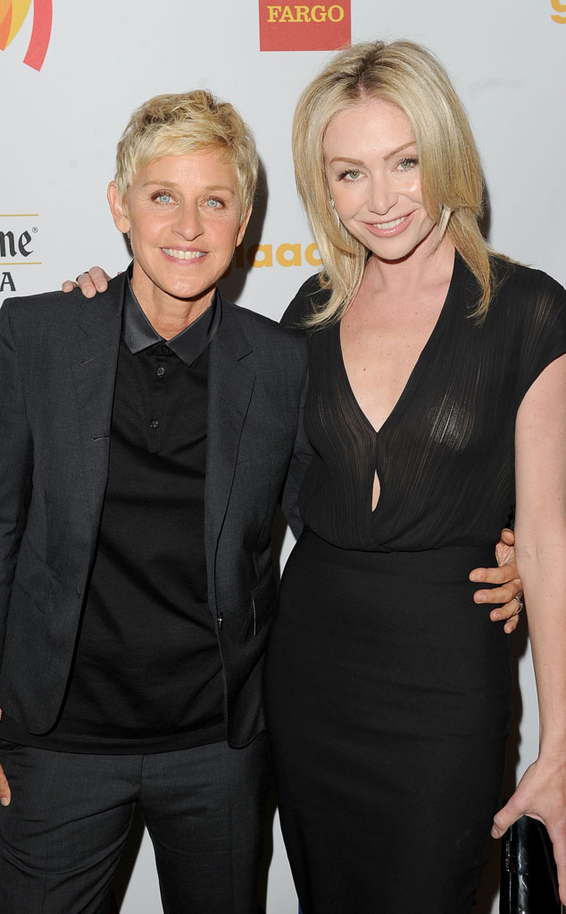 GLAAD Awards, Ellen Degeneres, Portia De Rossi