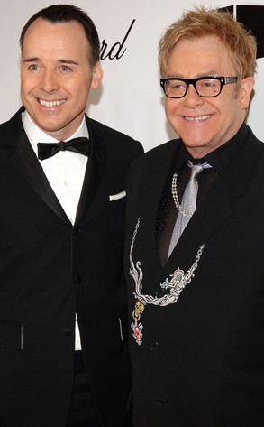 Elton John, David Furnish
