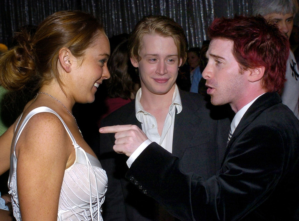 Lindsay Lohan, Macaulay Culkin, Seth Green