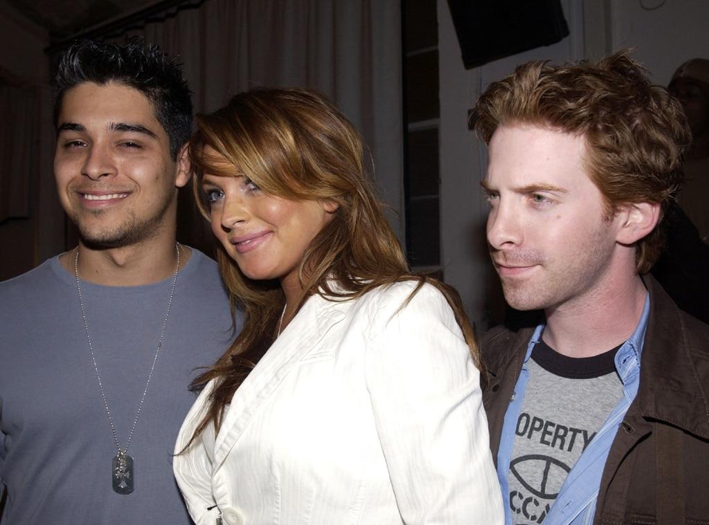 Wilmer Valderrama, Lindsay Lohan, Seth Green
