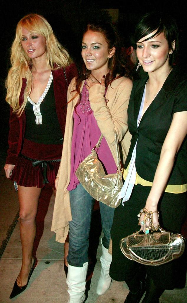 Paris Hilton, Lindsay Lohan, Ashlee Simspon