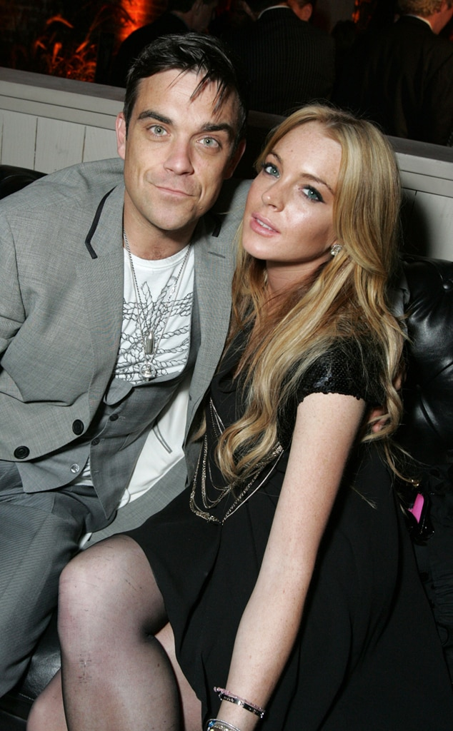 Robbie Williams, Lindsay Lohan