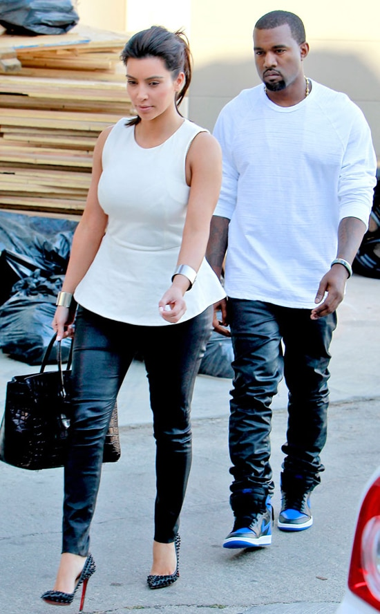 Kimye Leather Chelsea Again 550