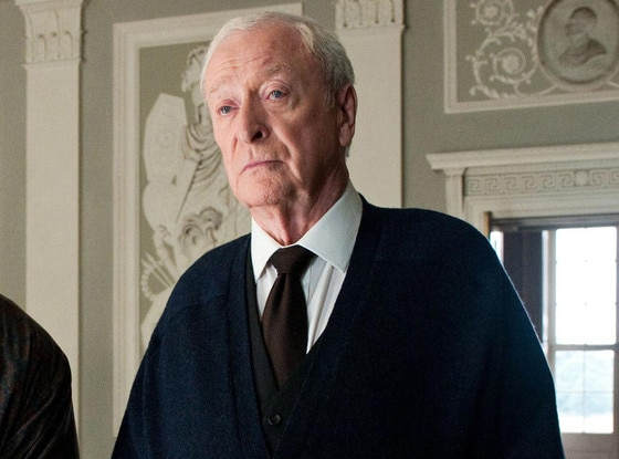 Michael Caine, The Dark Knight Rises