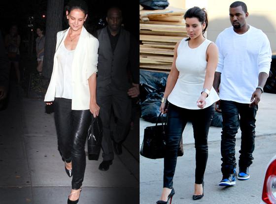 Katie Holmes, Kim Kardashian, Kanye West