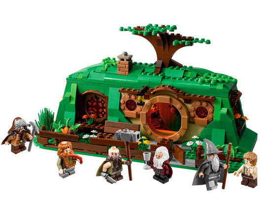 The Hobbit, Bilbo Baggins' house, LEGO