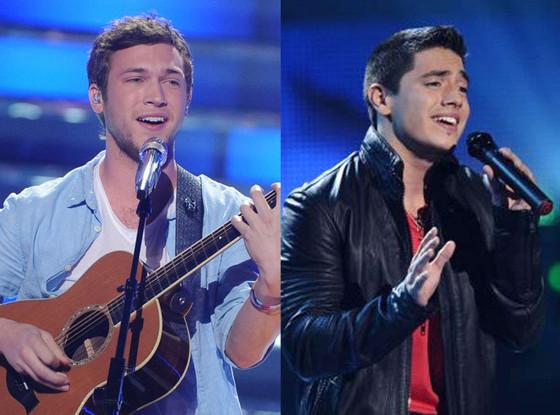Phillip Phillips, Stefano Langone, American Idol