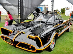 Adam West, Batmobile
