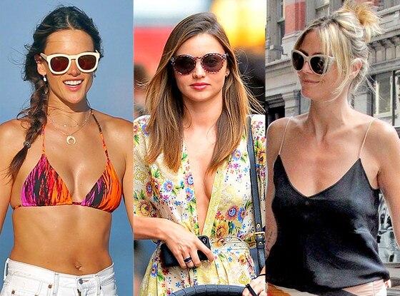 Alessandra Ambrosia, Heidi Klum, Miranda Kerr