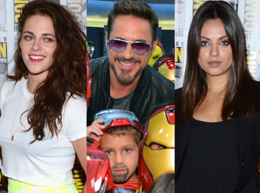 Kristen Stewart, Robert Downey Jr., Mila Kunis