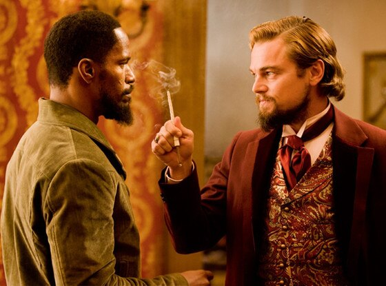 Django Unchained, Leonardo DiCaprio, Jamie Foxx