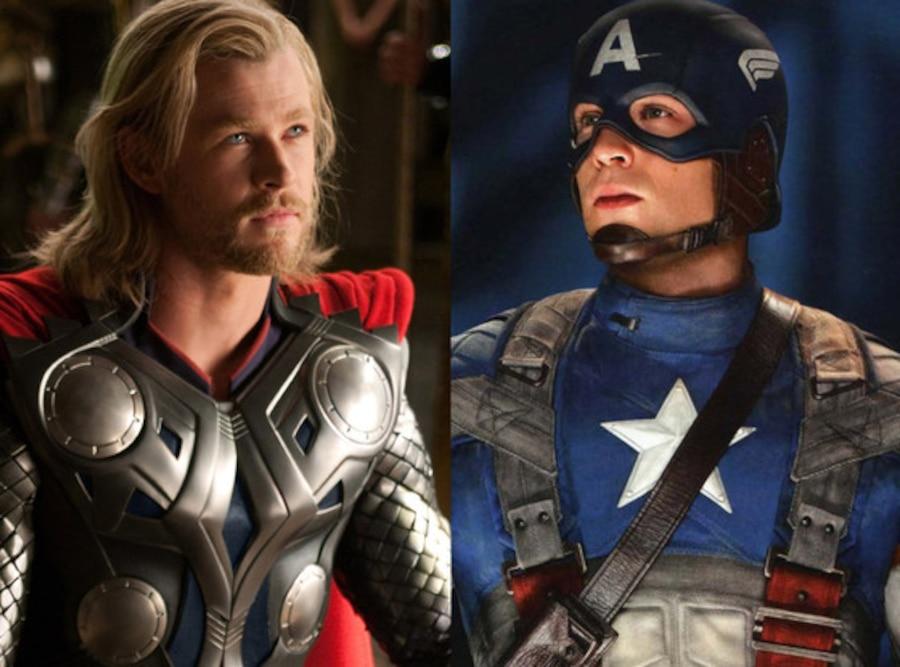 Thor, Captain America