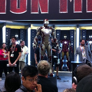 New Iron Man suit, Comic-Con