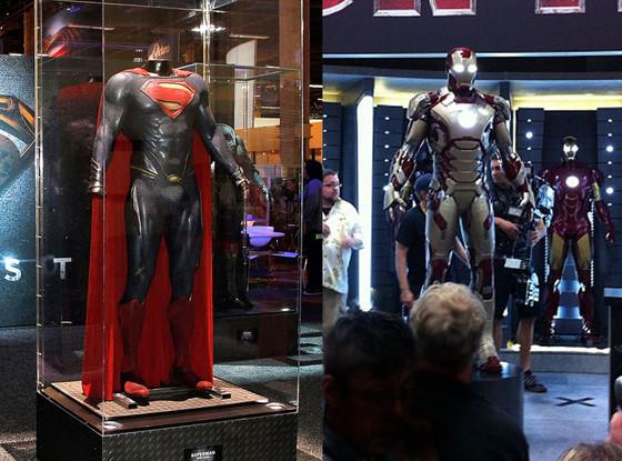 Superman costume, Iron Man Costume