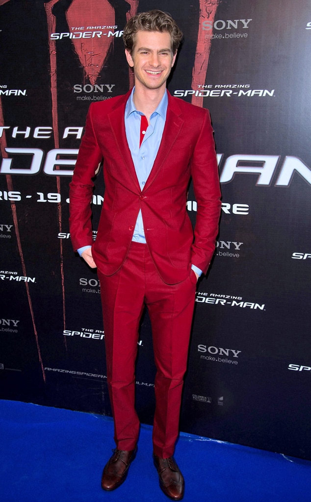 Movie Premiere Pandemonium, Andrew Garfield