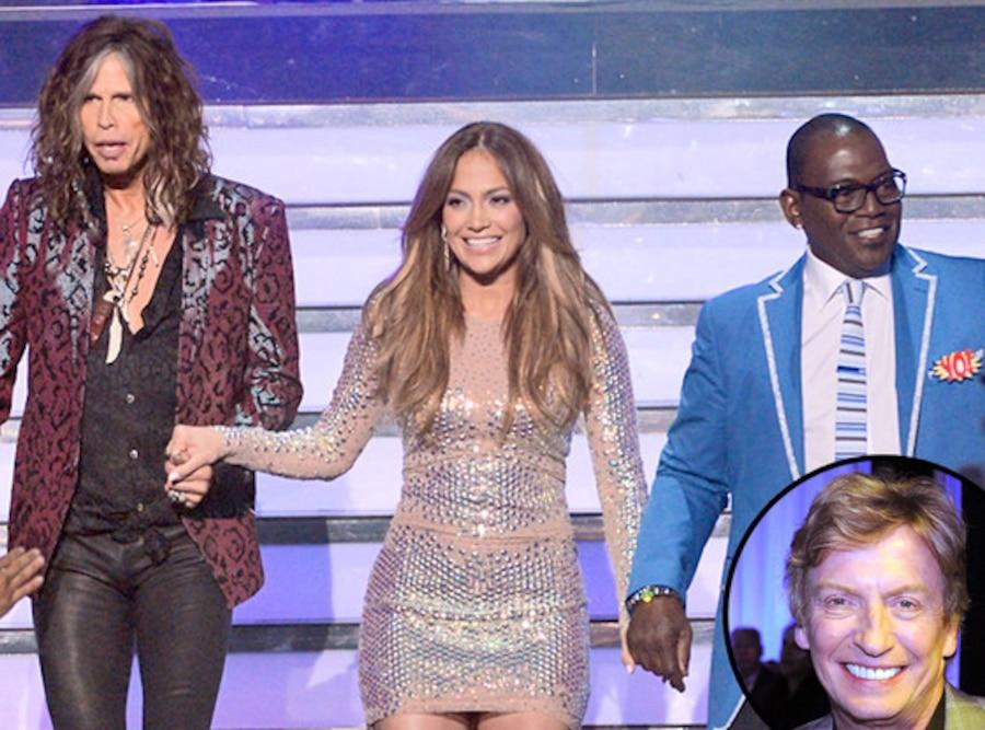 Jennifer Lopez, Randy Jackson, Steven Tyler, Nigel Lythgoe