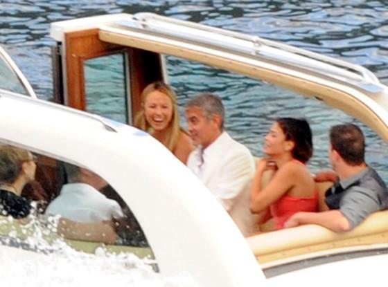 George Clooney, Stacy Keibler, Channing Tatum, Jenna Dewan
