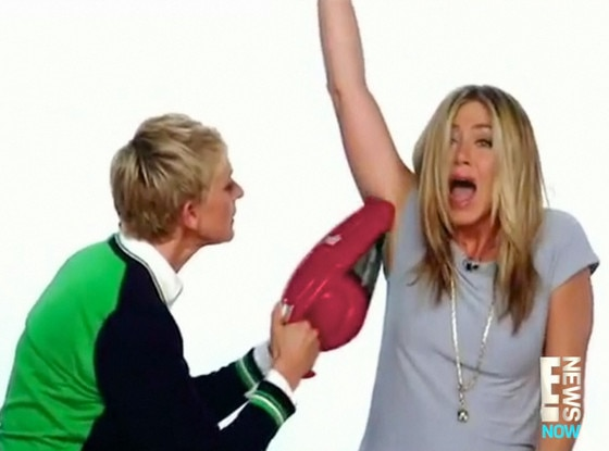 Ellen Degeneres, Jennifer Aniston