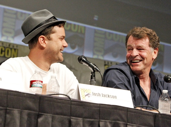 Comic Con, Joshua Jackson, John Noble