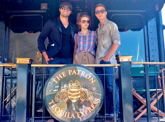 Patron Tequila Train, Tyler Hoechlin, Holland Roden, Colton Haynes