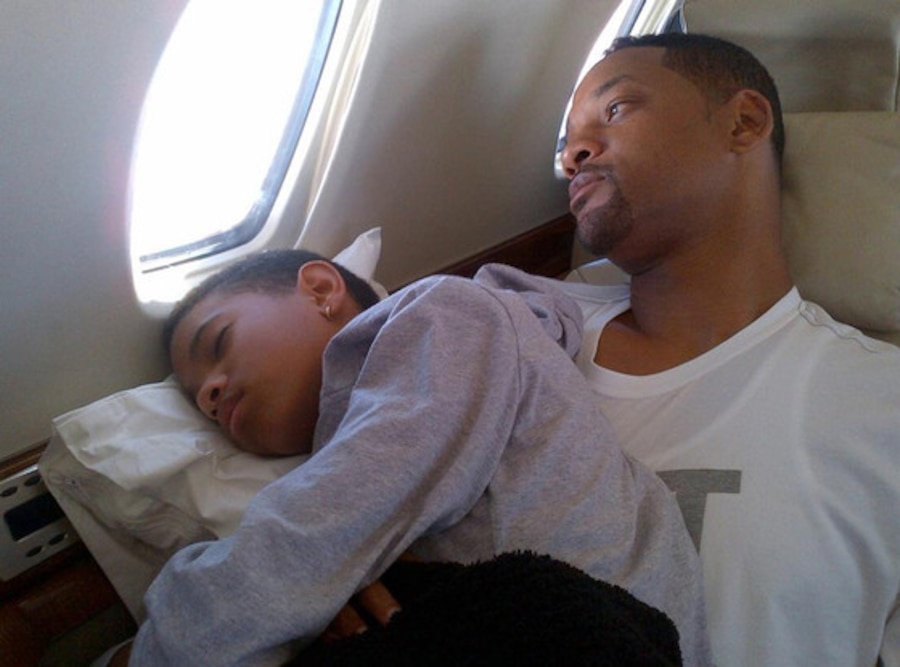 Will Smith, Willow Smith, Twit Pic
