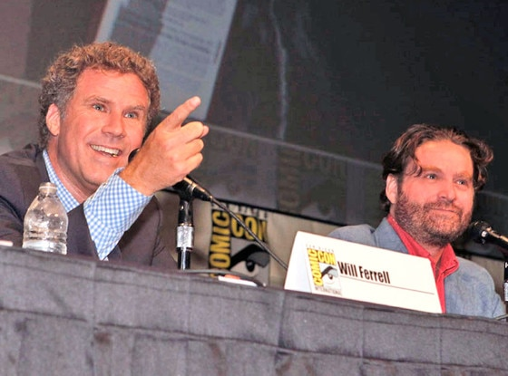 Comic Con, Will Ferrell, Zach Galifianakis