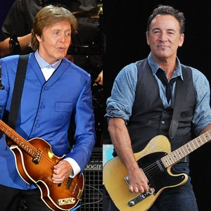 Paul McCartney, Bruce Springsteen