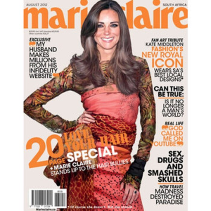 Fake Kate Middleton Marie Claire Cover