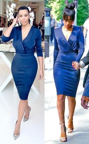 Rihanna, Kim Kardashian