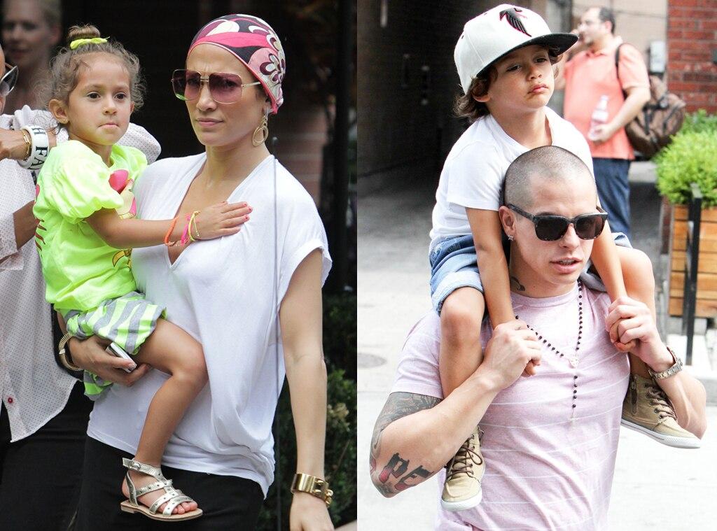 Jennifer Lopez, Emme, Casper Smart, Max