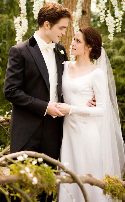 Twilight Saga: Breaking Dawn, Part 1, Robert Pattinson, Kristen Stewart Wedding