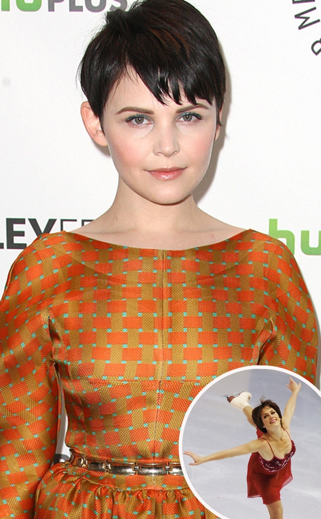 Ginnifer Goodwin, Ice Skating
