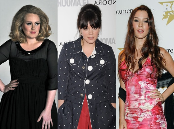 Adele, LilyAllen, JossStone