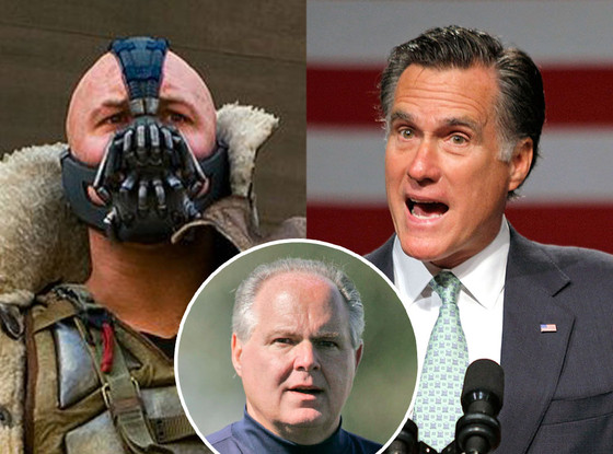 Thomas Hardy, Mitt Romney, Rush Limbaugh