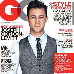 Joseph Gordon, GQ Cover