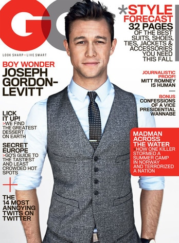 Joseph Gordon, GQ Cover