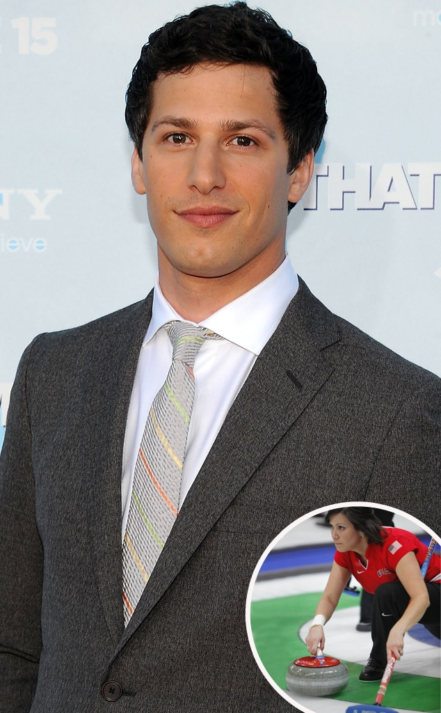 Andy Samberg, Curling